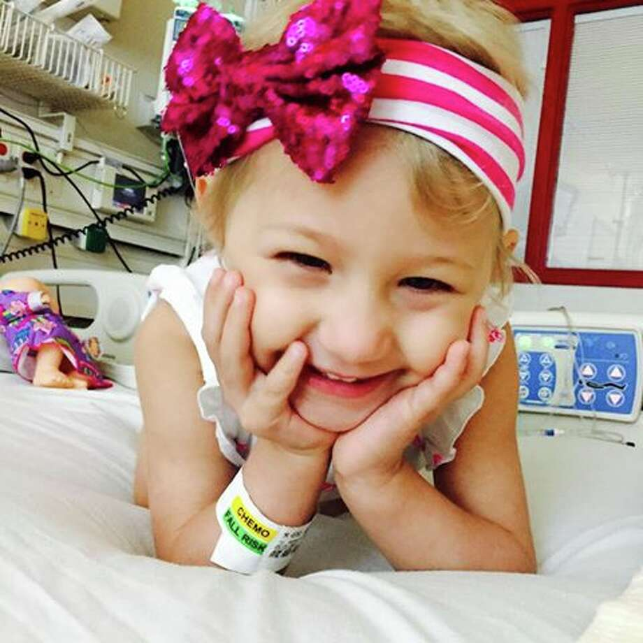 Orangefield resident Austyn Halter, 4, died on Friday following a two year battle with a rare form of leukemia. Funeral services will be held for Halter this week. Photo: Facebook