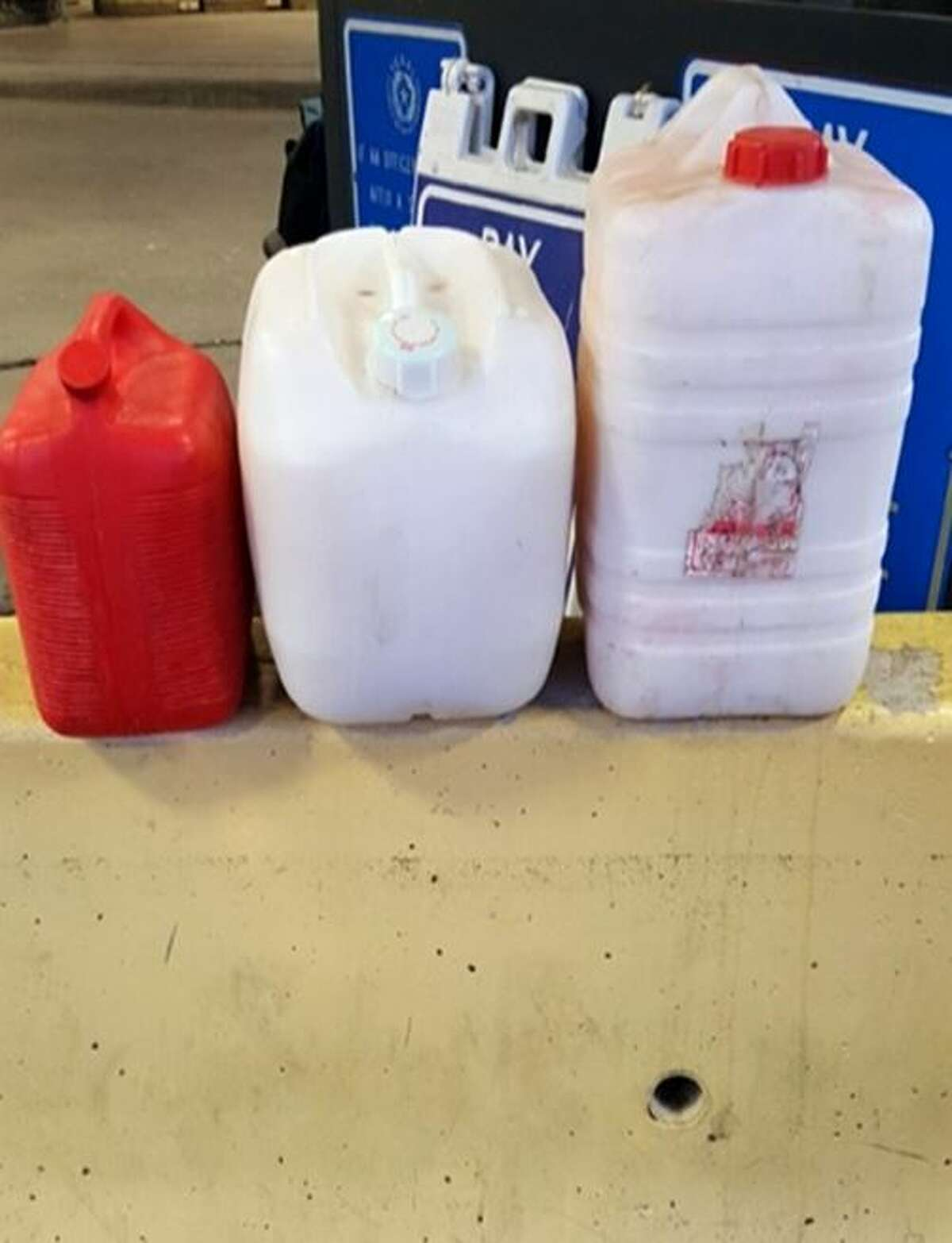 Three fuel containers containing 45 gallons of pulque were seized by Texas Alcoholic Beverage Commission tax compliance officers at the Juarez-Lincoln International Bridge on July 25.