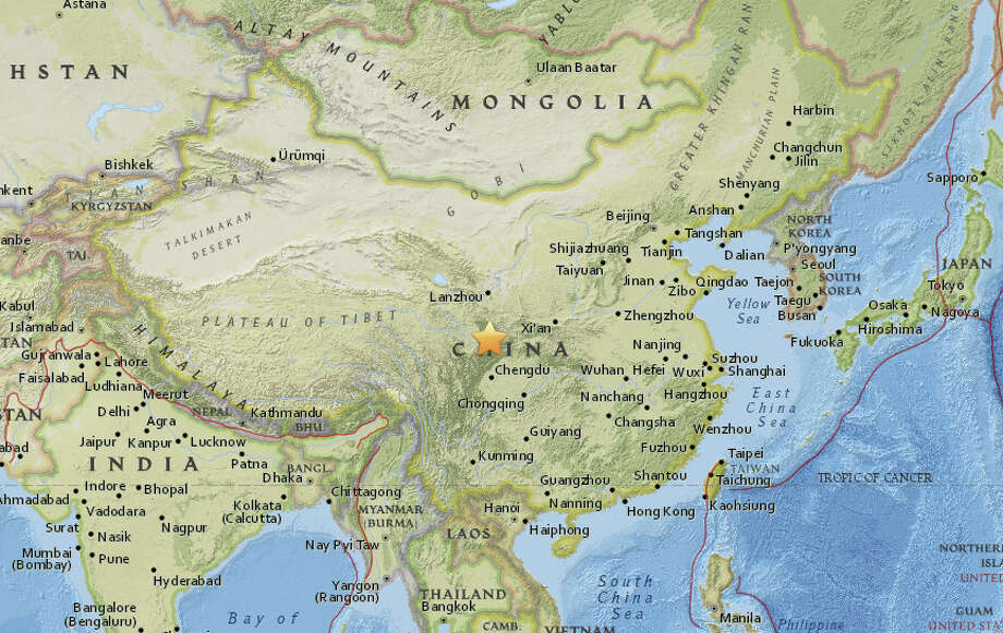 Image result for 7.0-magnitude powerful earthquake hits southwest China