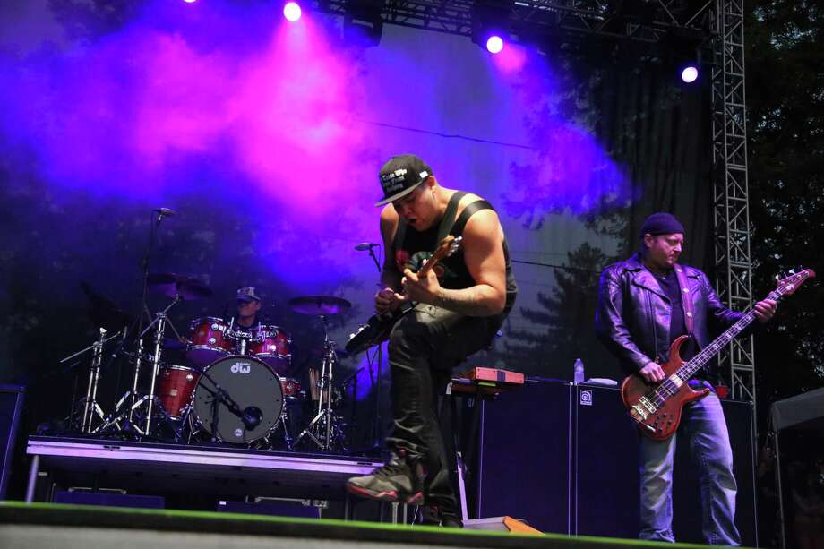 Sublime with Rome performs at the 2014 Bottlerock Napa Valley music, food and wine festival on Friday, May 30, 2014 in Napa, Calif. Photo: Kevin N. Hume, Intern / ONLINE_YES