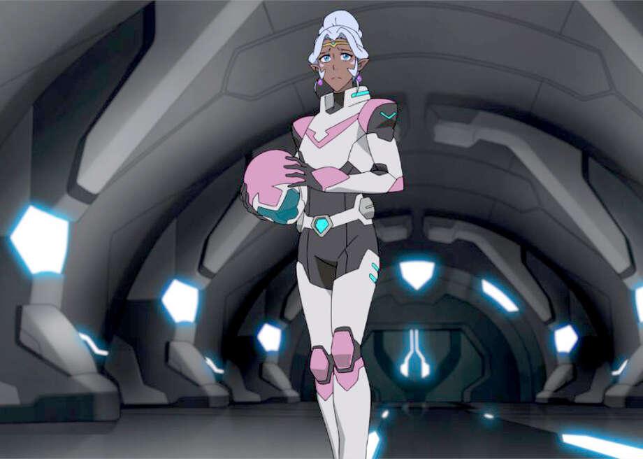 "In Season 3 of Netflix's ""Voltron: Legendary Defender,"" Princess Allura becomes a major part of the Voltron force. Photo: Netflix / Netflix"