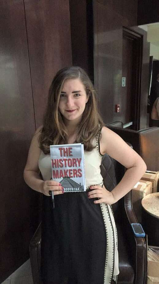 """Stamford's Val Bodurtha, author of """"The History Makers."""" Photo: Contributed Photo"""