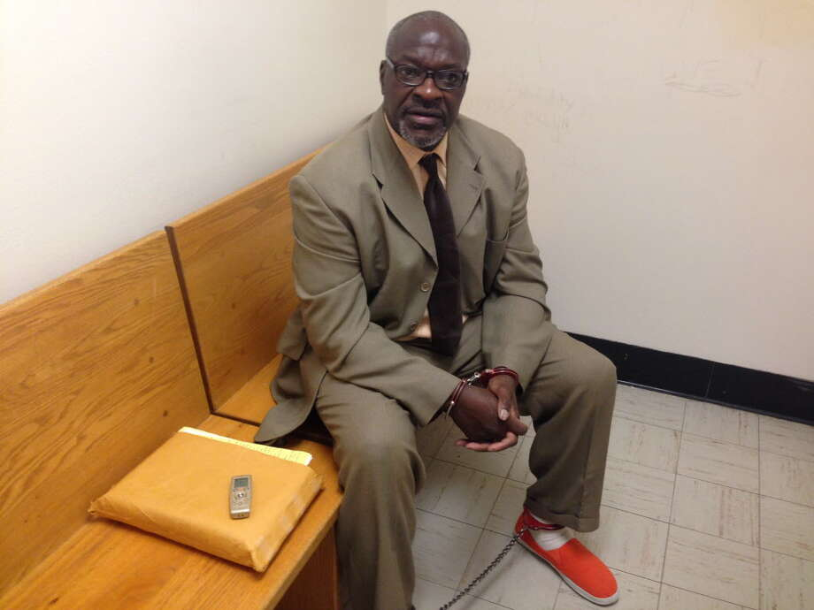 Thomas Montford talks about his retrial on drug charges in Schenectady County and his unwillingness to accept a plea bargain that would let him walk away without service any more time in prison. Aug. 8, 2017. Photo: Paul Nelson / Times Union