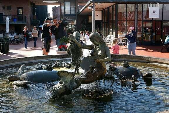 """Andrea's fountain,"" created by Ruth Asawa nearly 50 years ago"