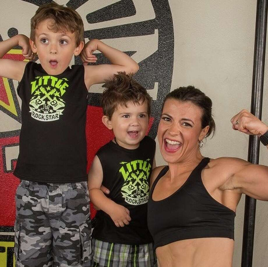 San Antonio mother, fitness coach and career woman, Helen Costa-Giles competed in the 2017 IsaBody Challenge to win the grand prize of $25,000.  Photo: Courtesy Isagenix