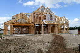 Home construction continues in Wildwood at NorthPointe, located off Texas 249 and NorthPointe Blvd. (Photo by Jerry Baker/Freelance)