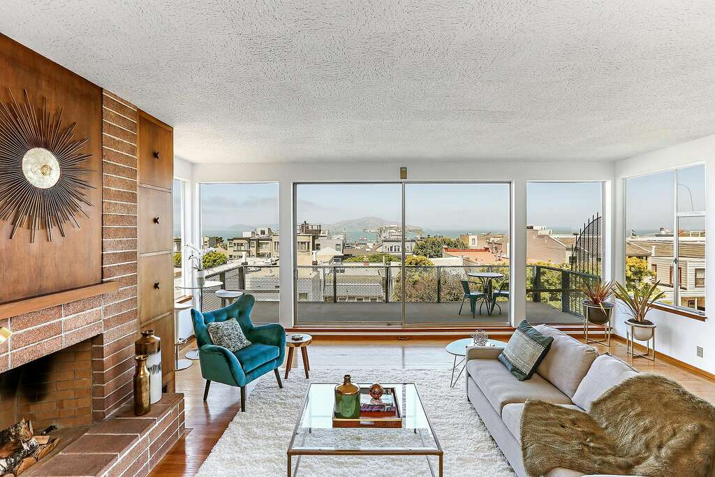 Walk-through: Midcentury magnificence in Russian Hill - SFGate