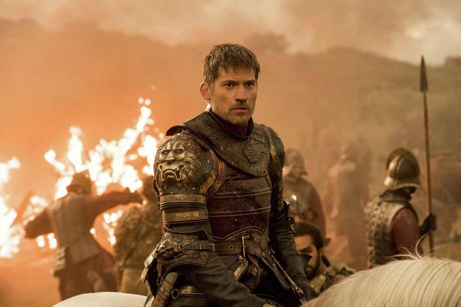 """CORRECTS AIR DATE TO AUG 6 AND CLARIFIES THAT A GROUP OF HACKERS AND NOT AN INDIVIDUAL IS INVOLVED - This image released by HBO shows Nikolaj Coster-Waldau as Jaime Lannister in an episode of """"Game of Thrones,"""" which aired Sunday, Aug. 6. A group of hackers posted a fresh cache of stolen HBO files, including some apparently related to the show """"Game of Thrones,"""" online Monday, part of what the purported hacker has claimed is a much larger trove of stolen HBO material. The dump includes scripts from five """"Game of Thrones"""" episodes, including one upcoming episode, and a month's worth of email from the account of an HBO programming executive. Photo: Macall B. Polay /Associated Press / HBO"""