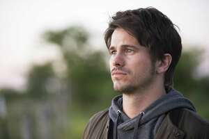 """Jason Ritter got emotional just recalling the tearful scene in San Antonio's airport, which serves as the climax of the pilot of a new hopeful and humorous drama coming to ABC this fall, """"Kevin (Probably) Saves the World."""""""