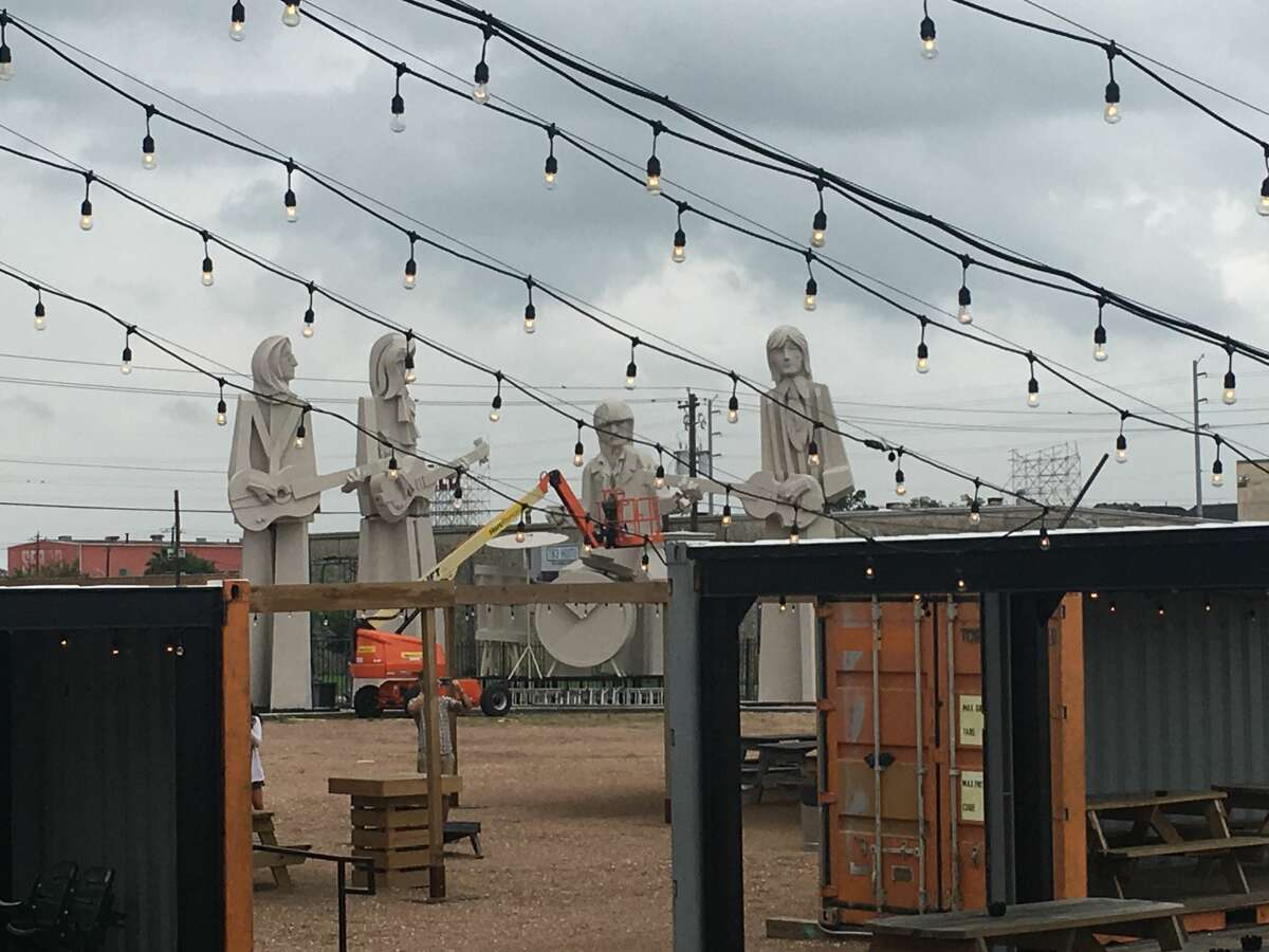 Four concrete lads from Liverpool are currently standing in the backyard of one of Houston's most popular breweries. This week 8th Wonder Brewery took custody, albeit temporary, of renowned artist David Adickes' famous Beatles statues that once stood outside his SculpturWorx workshop off Taylor and I-10. Adickes tells Chron.com that the set is for sale for $350,000. Click through to see more photos of Adickes' famous art around Houston and Texas...