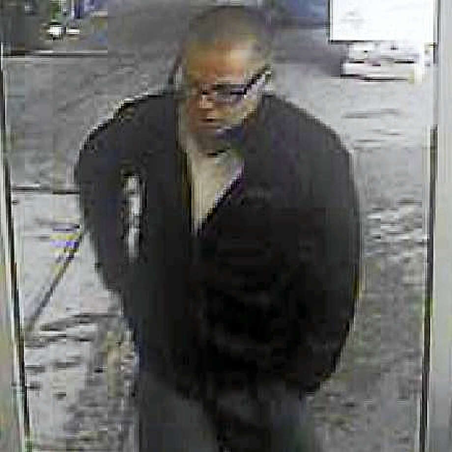 (Photo courtesy of the Clinton Police Department)Police are asking the public for help finding a man who allegedly stole hundreds of dollars' worth of products from the Clinton Stop & Shop. The man reportedly fled in a dark-colored sedan. Photo: Journal Register Co.