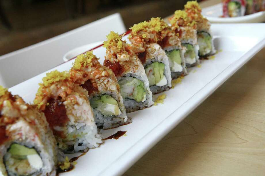 Yellowfish Sushi, 9102 Wurzbach Road, (210) 614-3474. $6 fee to bring 6-pack of beer, a bottle of wine or saki. Photo: Express-News File Photo / ©2013 San Antonio Express-News