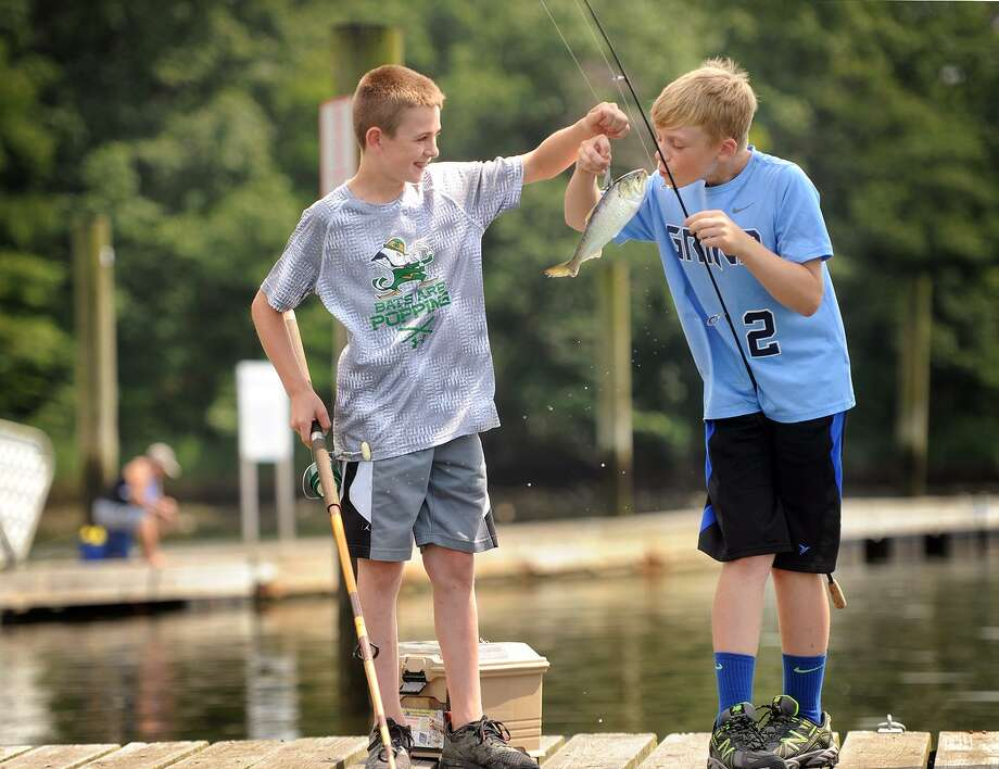 how to take advantage of ct 'free fishing license day' - connecticut