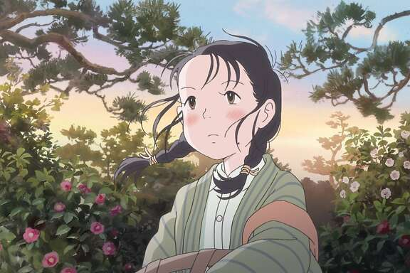 "A scene from Sunao Katabuchi's animated film, ""In this Corner of the World."""
