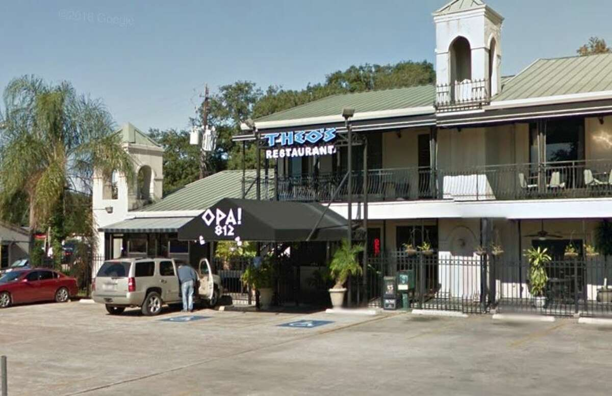 Theo's Greek Restaurant at 812 Westheimer is owned by Ted