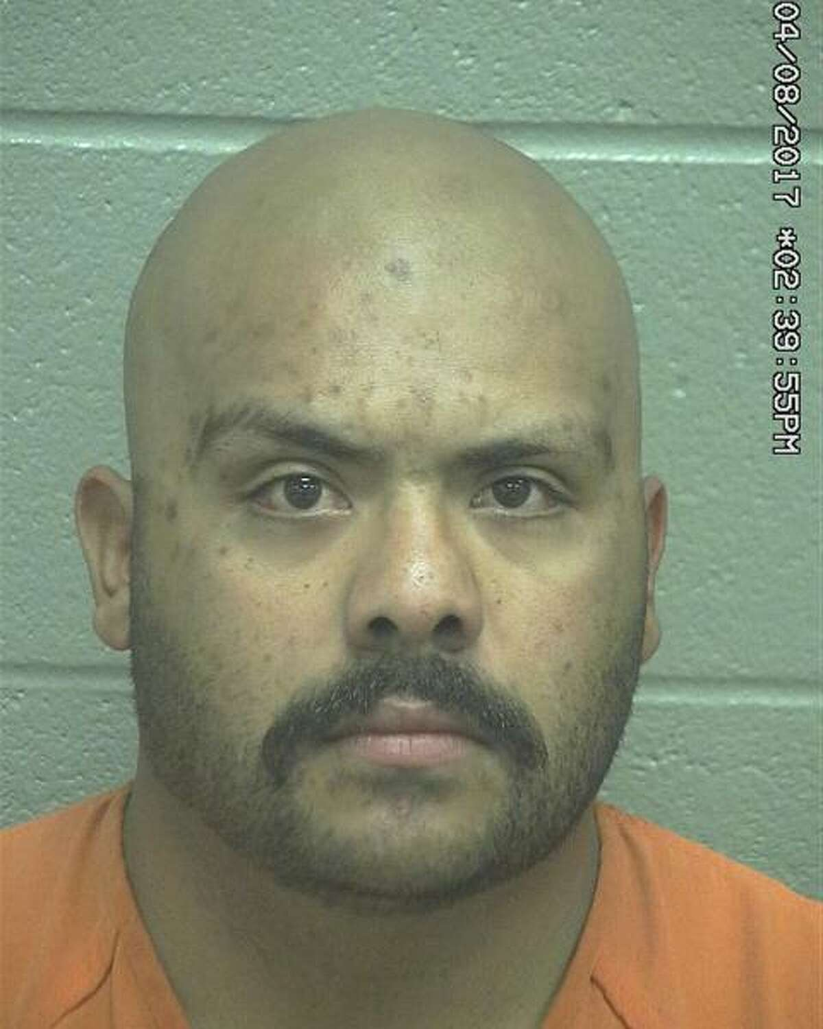 Juan Manuel Aguilar Jr. was convicted of the second-degree felony after testimony revealed that on Aug. 14, 2017 he pointed a gun near his wife's face.