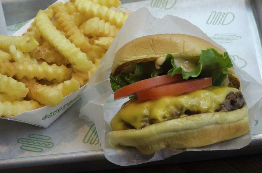 Shake Shack's hamburger and French fries. Photo: Marvin Joseph / The Washington Post / Getty Images / 2011 The Washington Post
