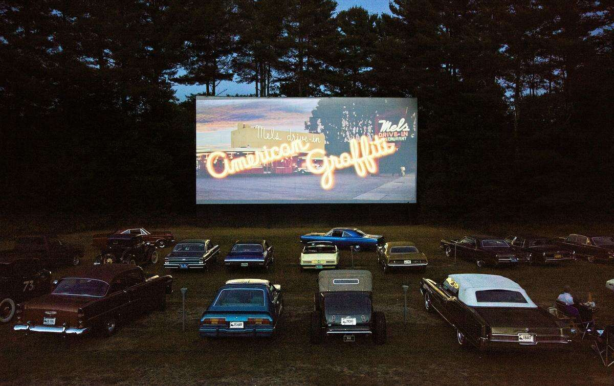 The other two Connecticut drive-ins, the Pleasant Valley Drive-In in Barkhamstead, pictured above, and the Mansfield Drive-In in Mansfield will both be operational through the summer months with social distancing in place. Some of the social distancing precautions placed at both drive-ins include six feet of distance between parked cars, increased sanitation in restrooms and contact-less food pickup.