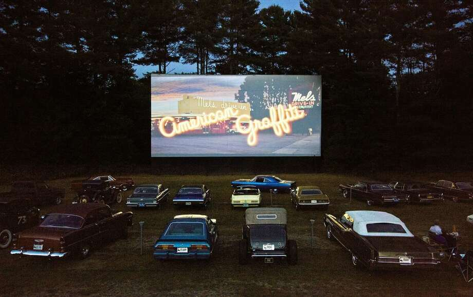 The Pleasant Valley Drive-In in Barkhamstead is one of only three surviving drive-in theaters in Connecticut. Photo: Contributed Photos / Connecticut Post Contributed