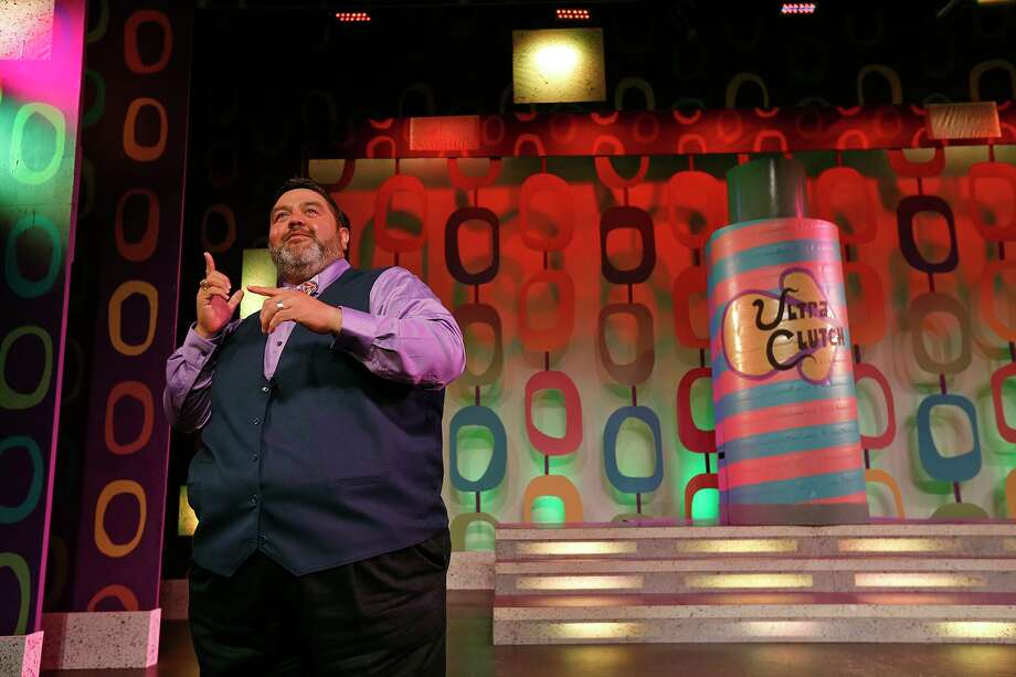 "Sign language interpreter Robert Cardoza prepares for a performance of ""Hairspray"" at The Playhouse San Antonio. Photo: Edward A. Ornelas /San Antonio Express-News / © 2017 San Antonio Express-News"