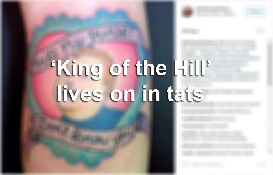 Keep clicking to see King of the Hill characters immortalized in tattoos. Photo: MySA