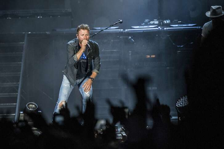 Dierks Bentley performs at the Faster Horses Music Festival in the Brooklyn Trails Campground at Michigan International Speedway on Friday, July 21, 2017, in Brooklyn, Mich. (Photo by Amy Harris/Invision/AP)
