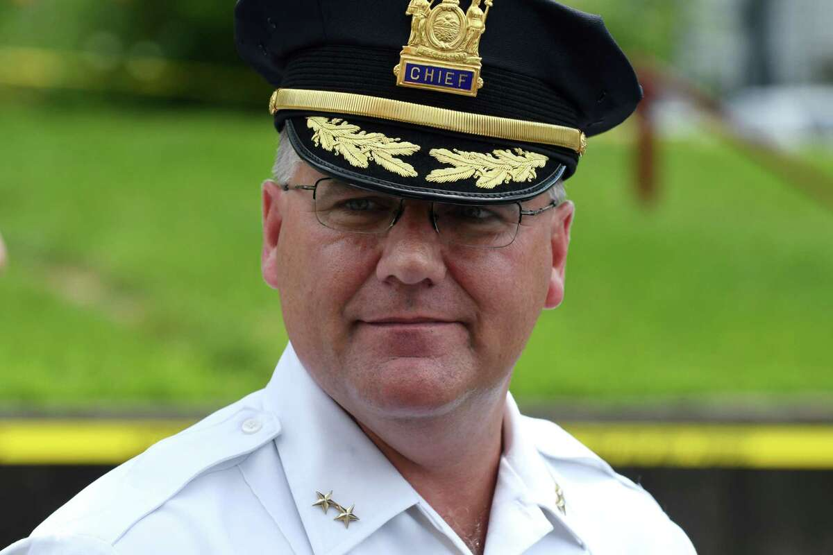 Mechanicville Police Chief Joseph Waldron will retire after 28 years on the force. (Will Waldron/Times Union)