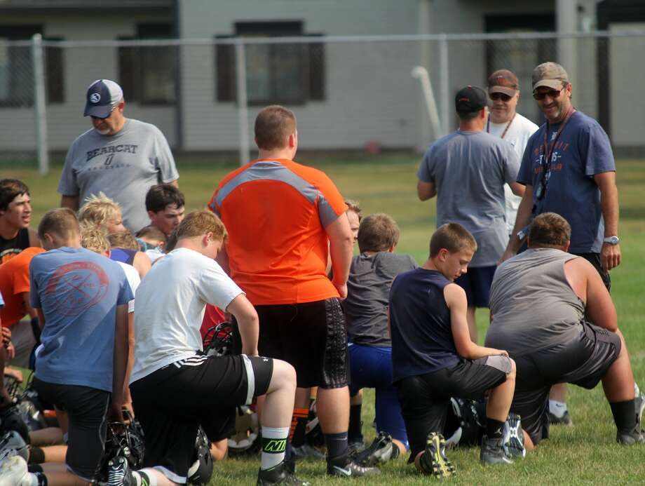 Ubly Football Practice 2017 Photo: Seth Stapleton/Huron Daily Tribune