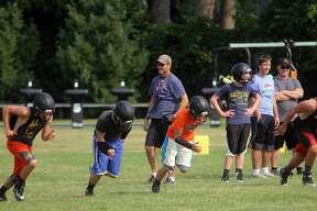 Ubly Football Practice 2017