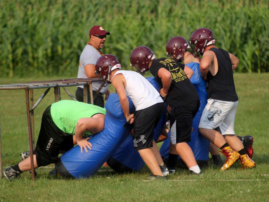 Deckerville Football Practice 2017 Photo: Seth Stapleton/Huron Daily Tribune