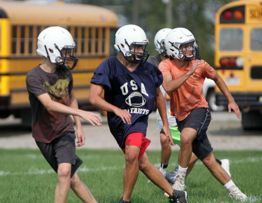 USA Football Practice 2017 Photo: Paul P. Adams/Huron Daily Tribune