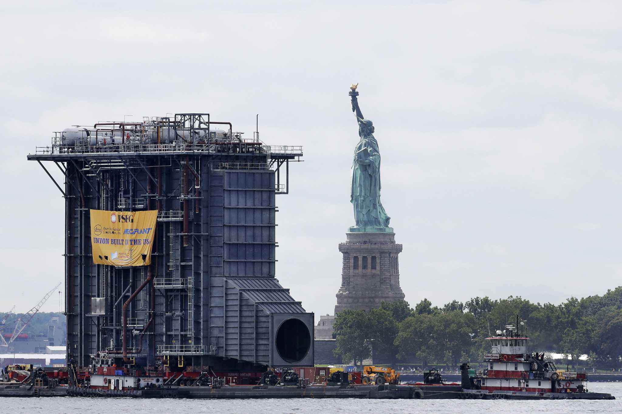 s Giant generator passes beyond Lady Liberty Times Union