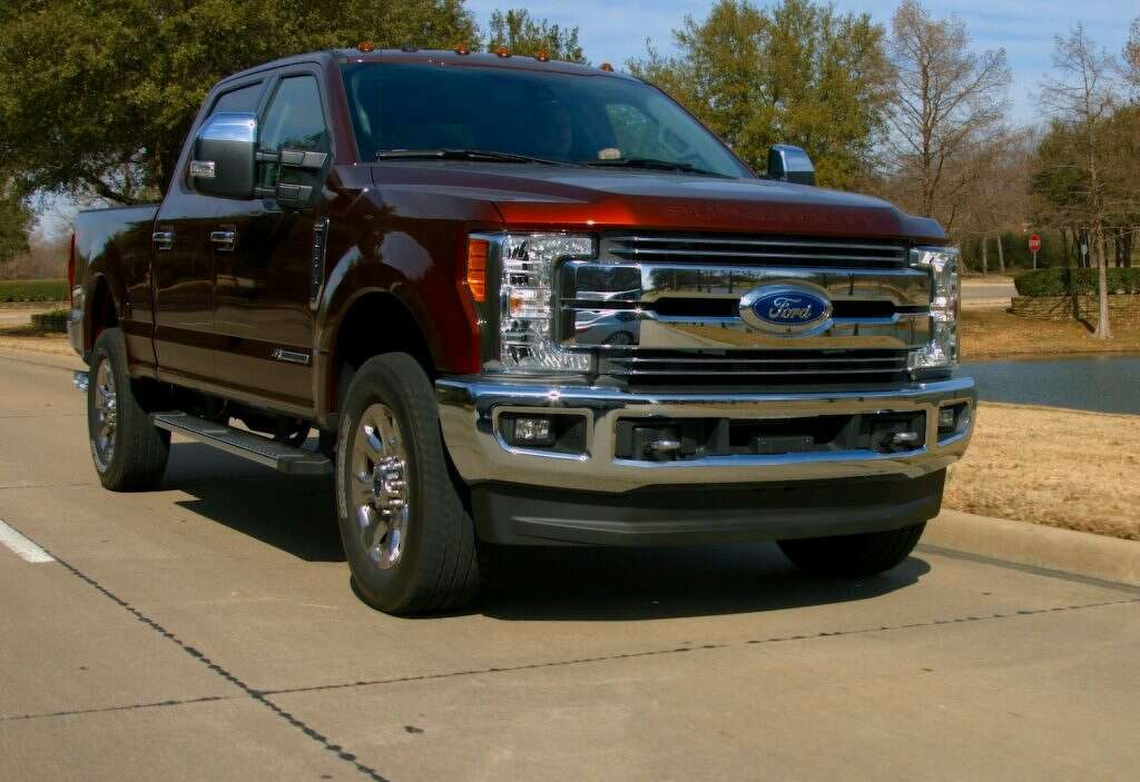 Ford F  Powerstroke Lariat Photo Ford Car Pro