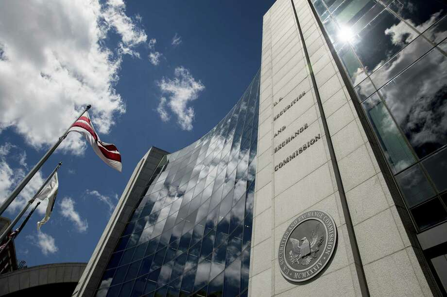 U.S. Securities and Exchange Commission building, Saturday, Aug. 5, 2017, in Washington. (AP Andrew Harnik) Photo: Andrew Harnik / Associated Press / Copyright 2017 The Associated Press. All rights reserved.