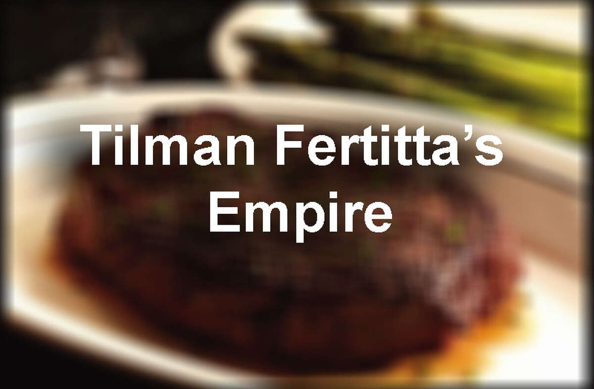See the expanse of Tilman Fertitta's business empire...