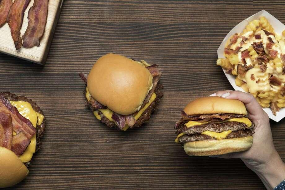 Bacon double cheeseburger at Shake Shack. Photo: Courtesy Shake Shack / © Evan Sung