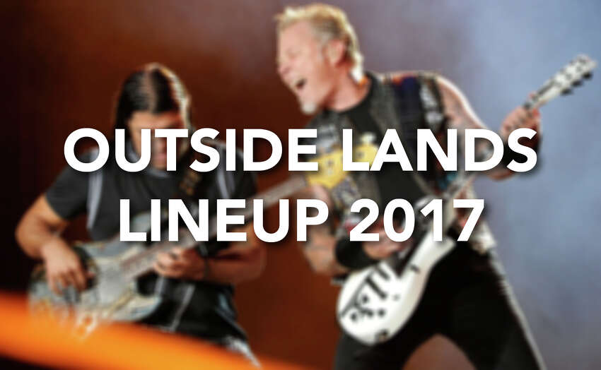 Who's on the bill for Outside Lands 2017? Click through to see all the headliners and other acts for San Francisco's three-day fest.