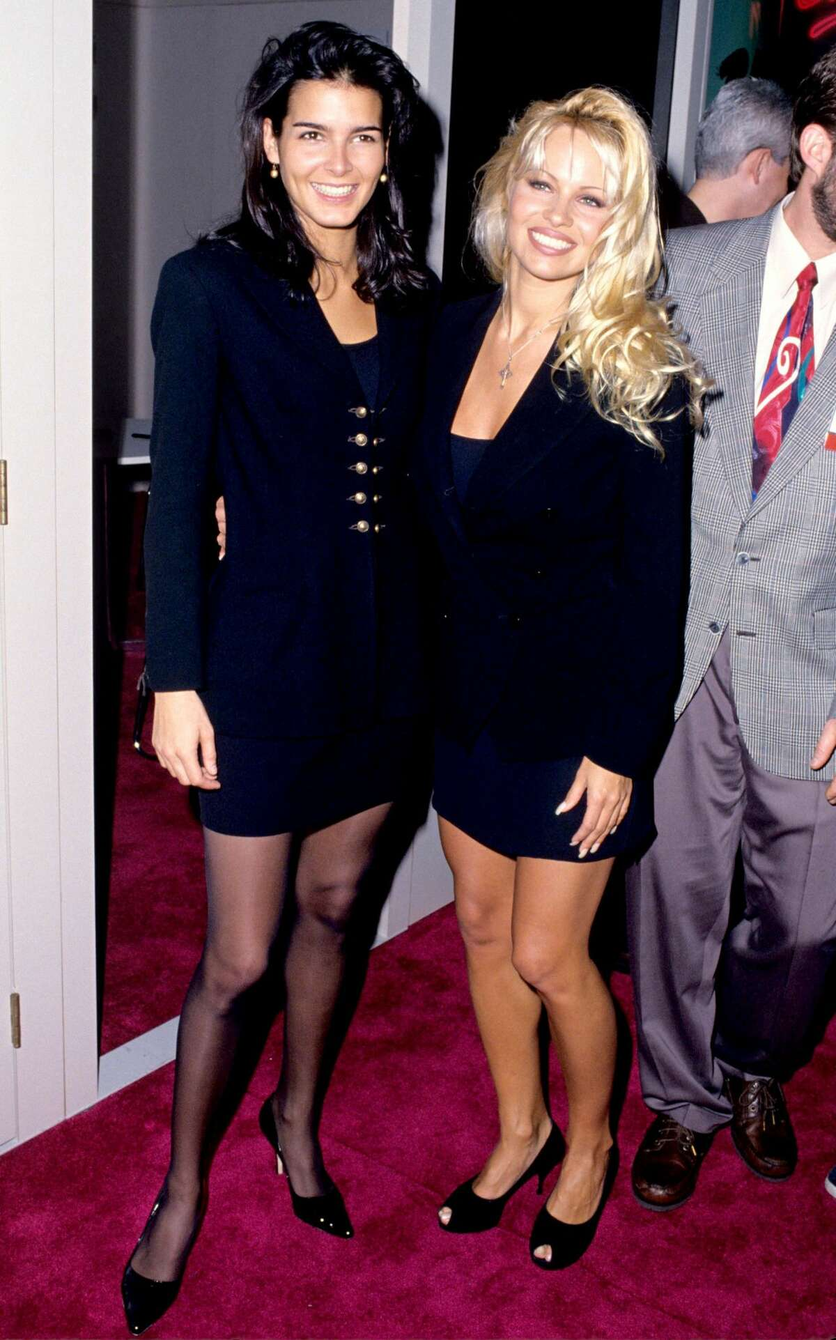 1995: Angie Harmon and Pamela Anderson