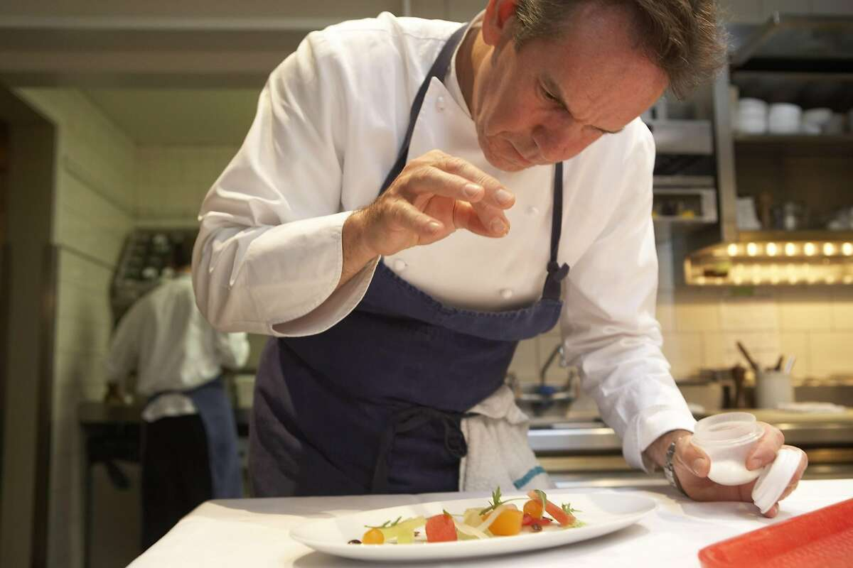 Chef Thomas Keller, participating in World Master Chefs Dinner in Houston on Sept. 29, 2012, a fundraiser for the Harris Country Sheriff's Office Foundation.