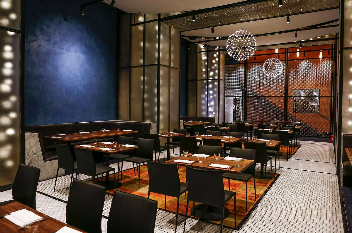 Mourad, Mourad Lahlou's new restaurant at 140 New Montgomery St., is seen on Tuesday, Jan. 20, 2015 in San Francisco, Calif.