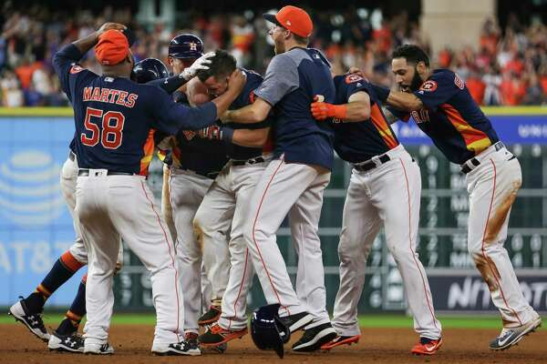 Despite a roster riddled with injuries, the resilient Astros managed to pull off a memorable four-run rally to win Sunday's homestand finale against Toronto. The real test, however, will come during the crucible of October.