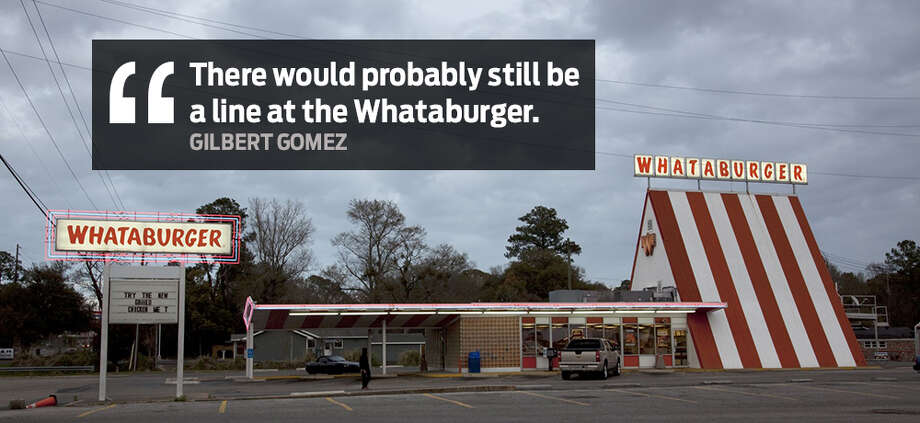 """There would probably still be a line at the Whataburger."" - Gilbert GomezSan Antonians have hilarious responses to the question ""What if a nuclear weapon detonated in San Antonio?"" Photo: Express-News File"