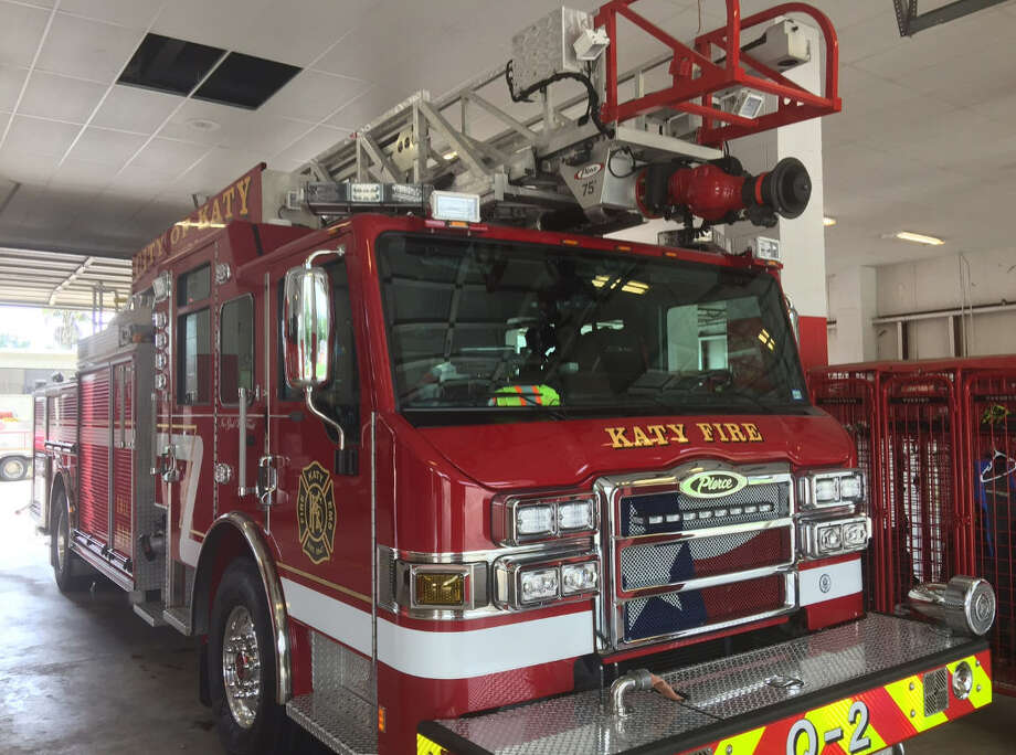 One of the KFD vehicles that will be used in the new Katy Fire Station near Katy Mills Mall.