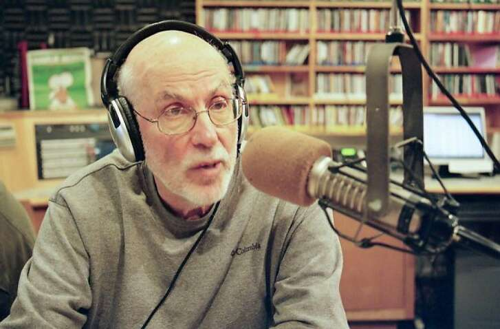 Radio journalist Larry Bensky