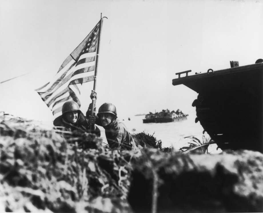 Guam during World War IIMore than 70 years ago during World War II, U.S. and Japanese forces clashed over the tiny island of Guam.Click through to see historic WWII photos showing the gritty U.S. Marine struggle over Guam. Photo: Batts/The LIFE Picture Collection/Getty Images