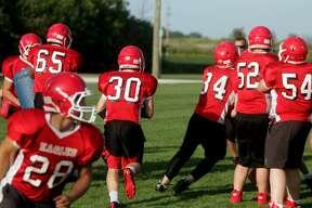 Caseville Football Practice 2017