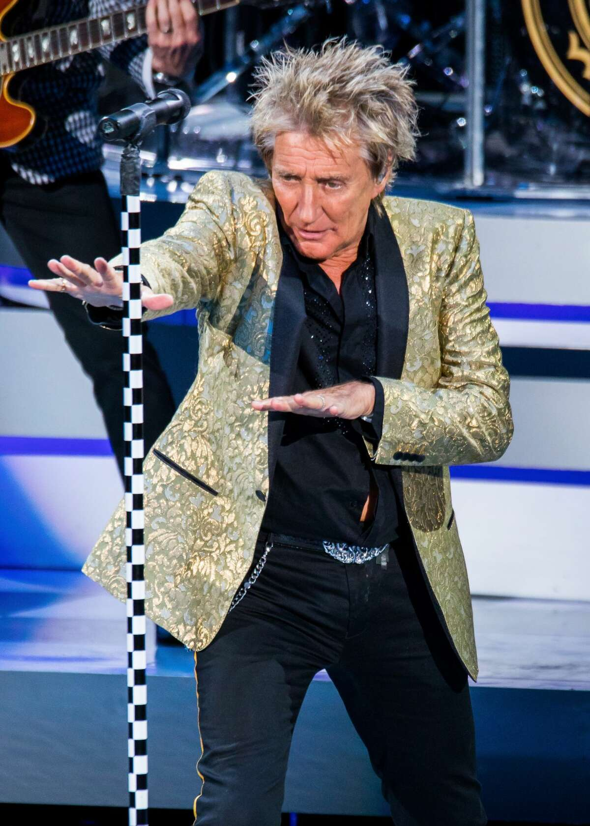 """Rod Stewart:The """"Forever Young"""" singer will be performing at the Smart Financial Centre on Saturday, Aug. 12 at 7:30 p.m. More Details: www.smartfinancialcentre.net"""