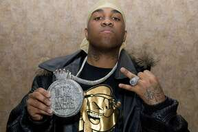 PHILADELPHIA - MARCH 16: Rapper Mike Jones attends Music and Entertainment Conference at Double Tree Hotel on March 16, 2008 in Philadelphia, Pennsylvania. (Photo by Gilbert Carrasquillo/FilmMagic)