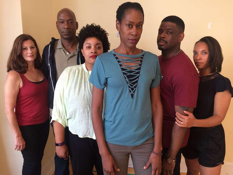 "The cast of San Francisco Play house's world premiere ""Zenith."" Photo: Lauren English, San Francisco Playhouse"