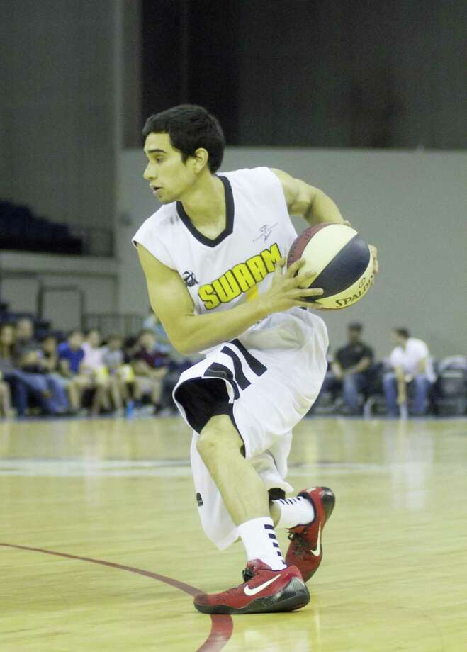 The Swarm are looking to stock next year's team full of the best basketball players Laredo has to offer as they will hold a tryout Aug. 20. Alexander alumnus Andy Garcia is one of six players with a local tie to play for the team in two and a half seasons, and Laredo plans on drastically increasing that total this year. Photo: Jason Mack / Laredo Morning Times File